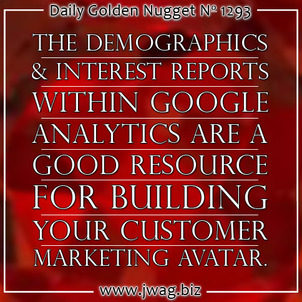 Demographics and Interest Reports: Practical SEO Guide daily-golden-nugget-1293-90