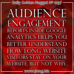 Audience Engagement: Practical SEO Guide daily-golden-nugget-1297-76