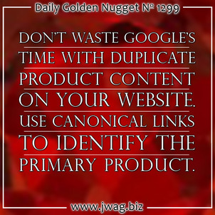 Killed By Duplicate Product Content TBT daily-golden-nugget-1299-92