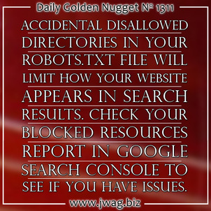 Blocked Resources: Practical SEO Guide daily-golden-nugget-1311-8
