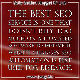 Should You Trust Random SEO Email Solicitations? daily-golden-nugget-1316-12
