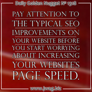 Site Speed Suggestions: Practical SEO Guide daily-golden-nugget-1318-32