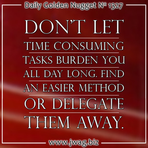 Time Management For The Retail Jeweler: Part 2 daily-golden-nugget-1327-64