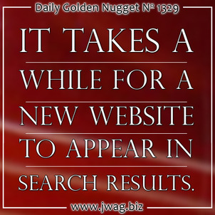 Getting New Websites Indexed in Google TBT daily-golden-nugget-1329-40