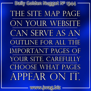 Why and How to Offer A Site Map To Your Users TBT daily-golden-nugget-1344-57