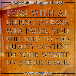 What is Google RankBrain and How Does it Affect Search? daily-golden-nugget-1378-73
