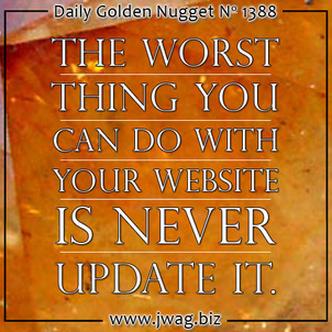 Let Your Website Evolve Into What It Should Be daily-golden-nugget-1388-91