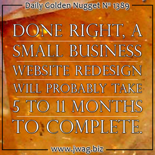 Your Estimations Are Wrong: Website Redesigns Take Longer Than You Think daily-golden-nugget-1389-50