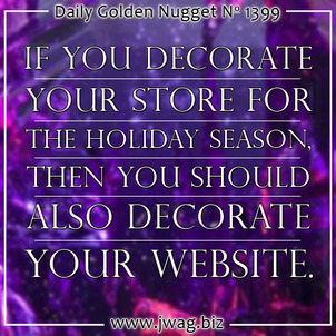 Decorating Your Website For the Holidays TBT daily-golden-nugget-1399-7
