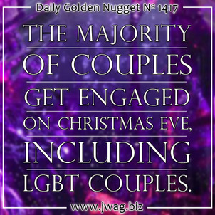 The Majority of Couples Get Engaged on Christmas Eve daily-golden-nugget-1417-36