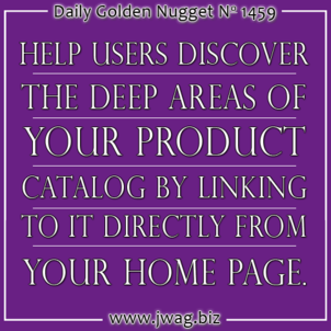 Deep Websites Create Discovery Issues for Users and Search Engines TBT daily-golden-nugget-1459-13