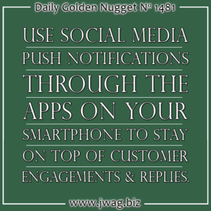 Using Your Smartphone To Improve How You Engage With Customers Socially daily-golden-nugget-1481-17