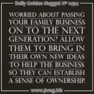 Passing The Family Business On To The Next Generation TBT daily-golden-nugget-1494-84