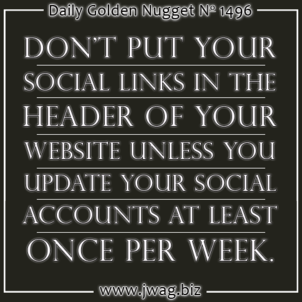 Should Social Links In A Website Header Or Footer? daily-golden-nugget-1496-69
