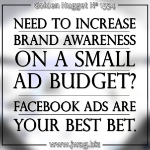The Right Choice for the Tight Budget: Google AdWords vs. Facebook Ads daily-golden-nugget-1554-43