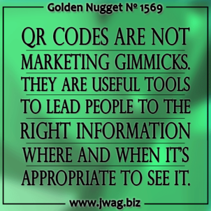 Resurgence of QR Codes Brings The Real World and Cyberspace Closer Together daily-golden-nugget-1569-47