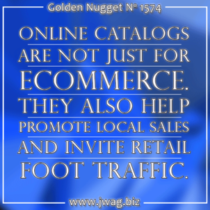 Retailer Future: First Steps Towards Online Catalog and Ecommerce Websites daily-golden-nugget-1574-57