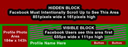 Facebook Cover Image Guideline - How it appears at the top of your Profile